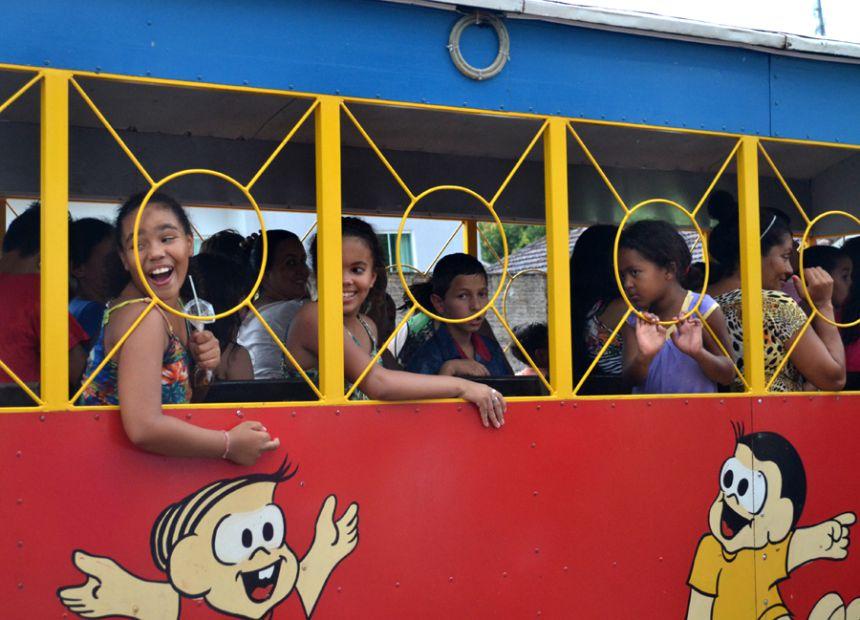 """Prefeitura promove festa do """"Dia das Crianças"""" no Ginásio """"Seccão"""""""