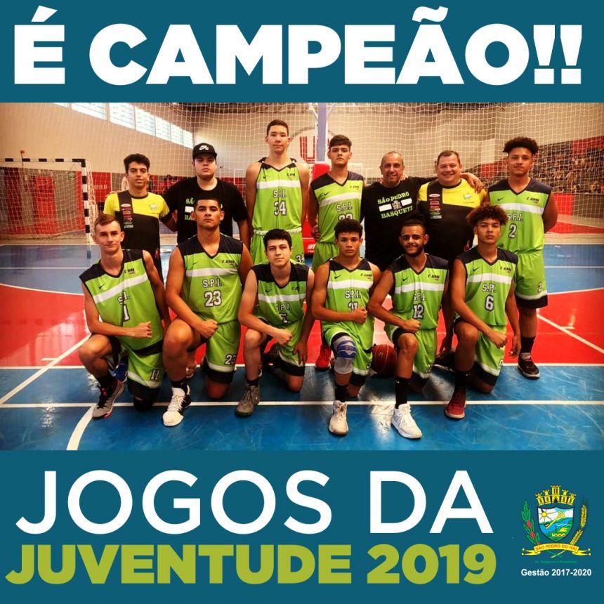 No Basquete, São Pedro do Ivaí é campeão dos Jogos da Juventude 2019
