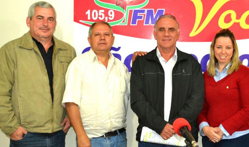 Ouça trechos da entrevista do prefeito José Isalberti à Rádio São Pedro FM