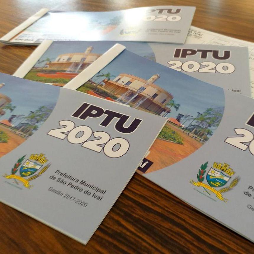 Prefeitura de São Pedro do Ivaí entrega carnês de IPTU aos contribuintes; saiba mais