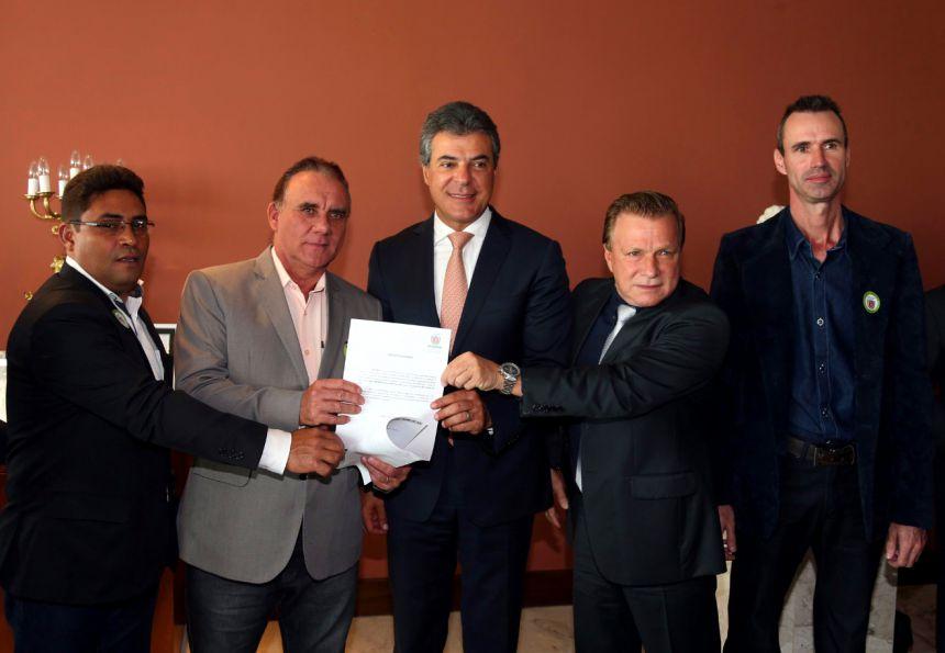 José Isalberti tem autorização do governo do Estado para financiar asfalto do Santa Rita