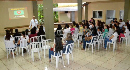 São Pedro do Ivaí realiza capacitação para servidores da saúde