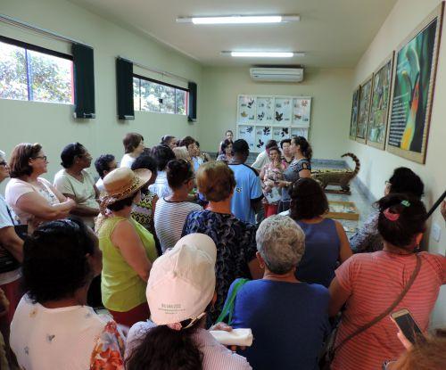 Com direito a cinema e passeio, idosos curtem programação especial em São Pedro do Ivaí