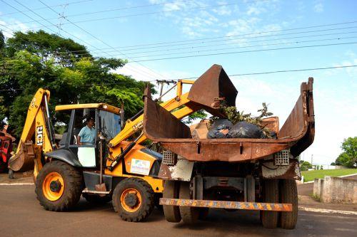 Mutirão de Limpeza inicia em São Pedro do Ivaí