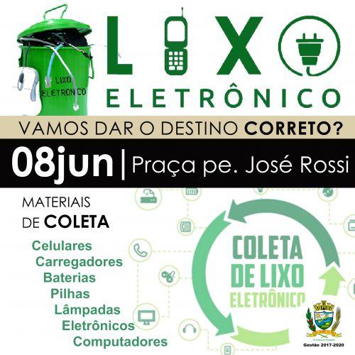 Lixo eletrônico será recolhido pelo governo municipal