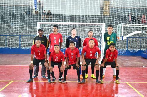 Escola Furacão de SPI se destaca no Circuito Vale do Ivaí de Futsal
