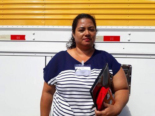 A dona de casa, Adriana Anibal, ser� uma das aprendizes de Auxiliar de Cozinha