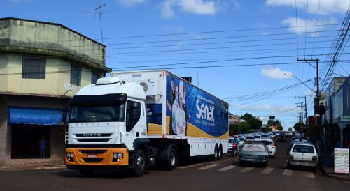 Carreta do Senac chega à São Pedro do Ivaí