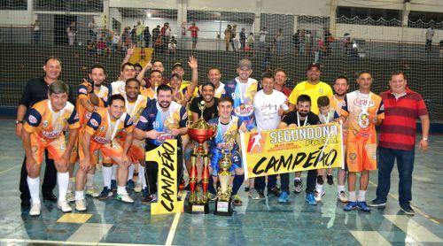 Na estreia em competições em SPI, Líder Service é campeã da Segundona de Futsal