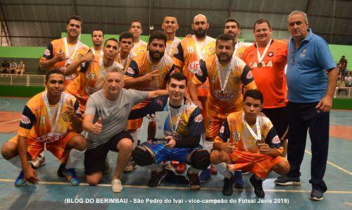 Futsal A MASC, vice campeao dos JAVIS 2019