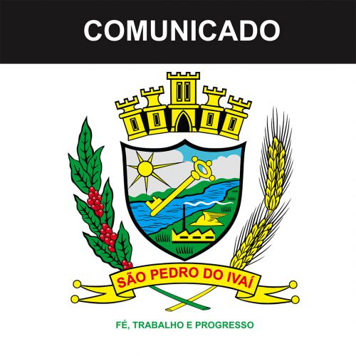COMUNICADO - Justificativa de Inexigibilidade de Chamamento Público