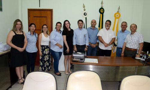 Diretor da 16ª Regional de Saúde visita São Pedro do Ivaí