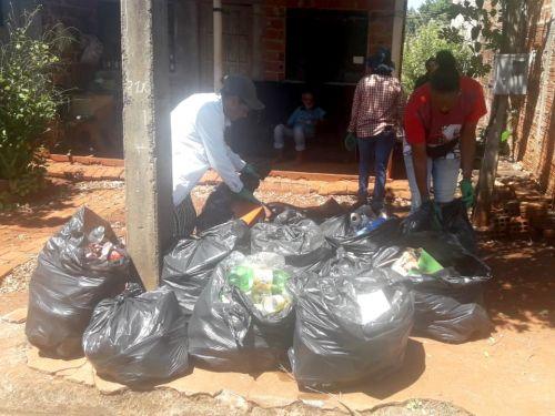Prefeitura recolhe 18t de material que acumula água durante Mutirão contra Dengue