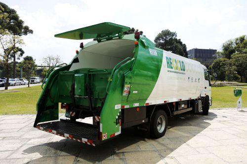 Município será contemplado com caminhão de coleta seletiva