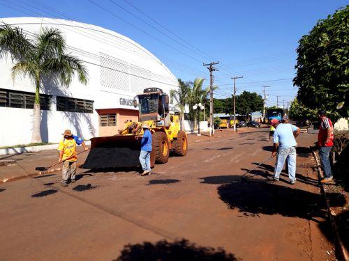 Administração municipal inicia operação Tapa-buracos em São Pedro do Ivaí