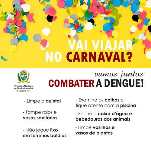 Por conta dos dias chuvosos, São Pedro do Ivaí reforça cuidados contra a dengue