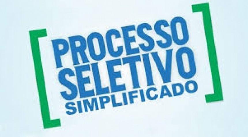 EDITAL Nº 052/2020 PROCESSO SELETIVO SIMPLIFICADO Nº 001/2020