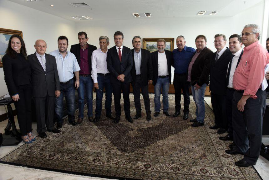 O governador Beto Richa anunciou nesta terç