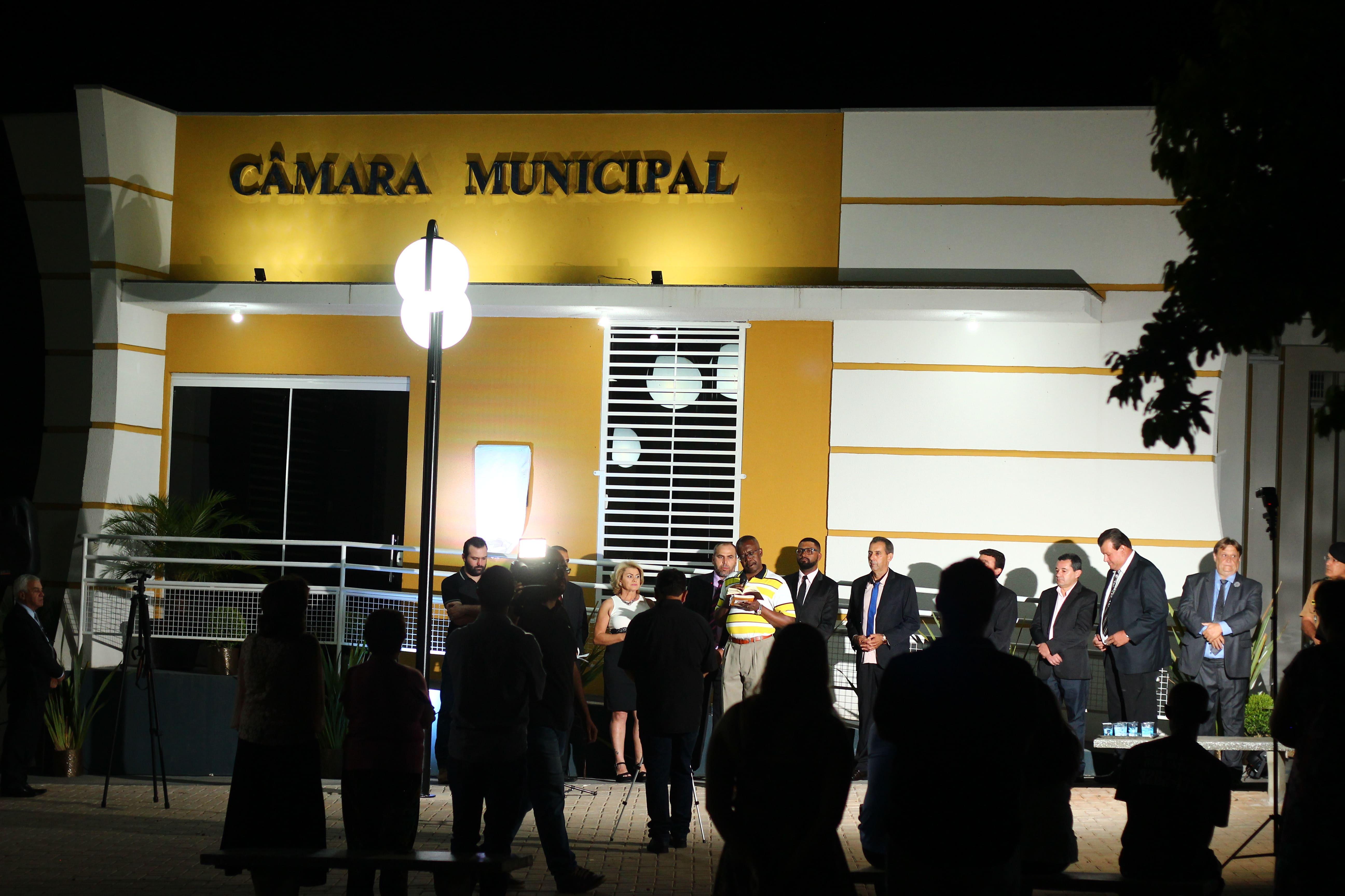 INAUGURAÇÃO DO NOVO PRÉDIO DA CÂMARA MUNICIPAL DE ITAMBÉ