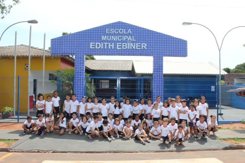 Entrega das obras de reforma e ampliação da Escola Edith Ebiner será nesta quarta às 19h