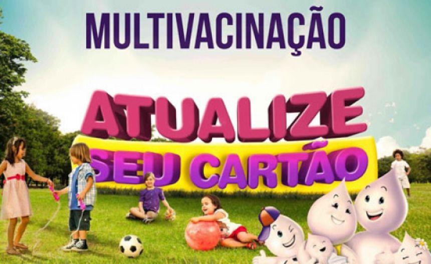 """Salas de vacina abrem neste sábado para  Dia """"D"""" da Campanha de Multivacinação"""