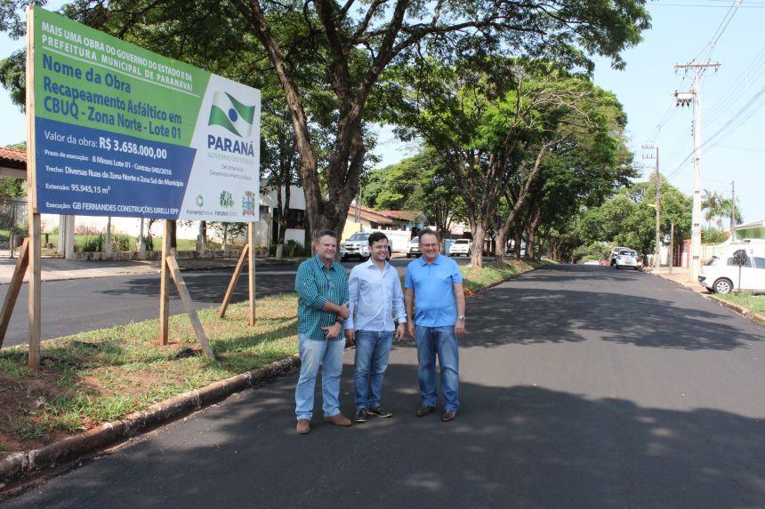 Obras do Pró-Revita 2 estão recuperando a malha viária em Paranavaí