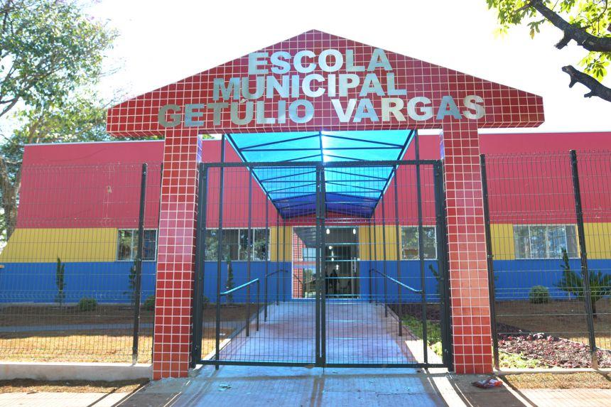 Município inaugura nova creche na Vila Operária e entrega obras de reforma da Escola Getúlio Vargas