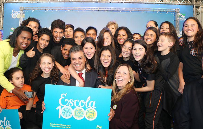 Programa Escola 1000 atenderá sete  instituições de ensino em Paranavaí