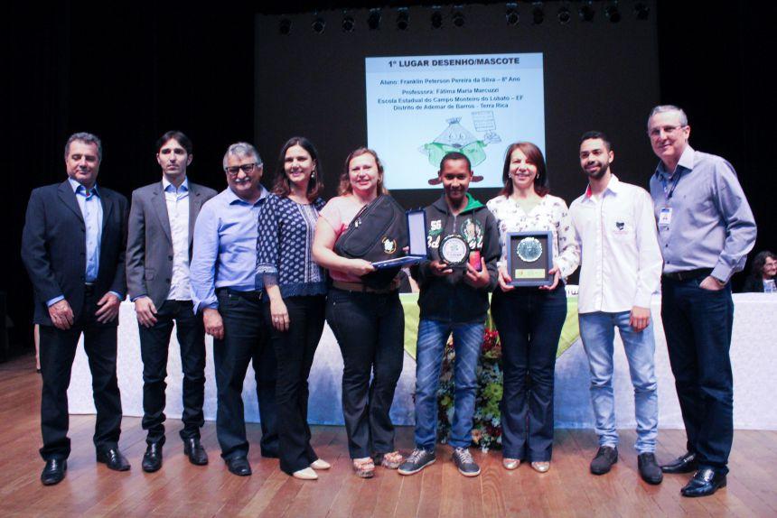 Mascote do Projeto Educação Ambiental é desenho de aluno de Terra Rica