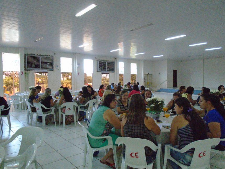 Resgate  e a União da Educação. Café da manhã para os Professores e funcionários da Educação