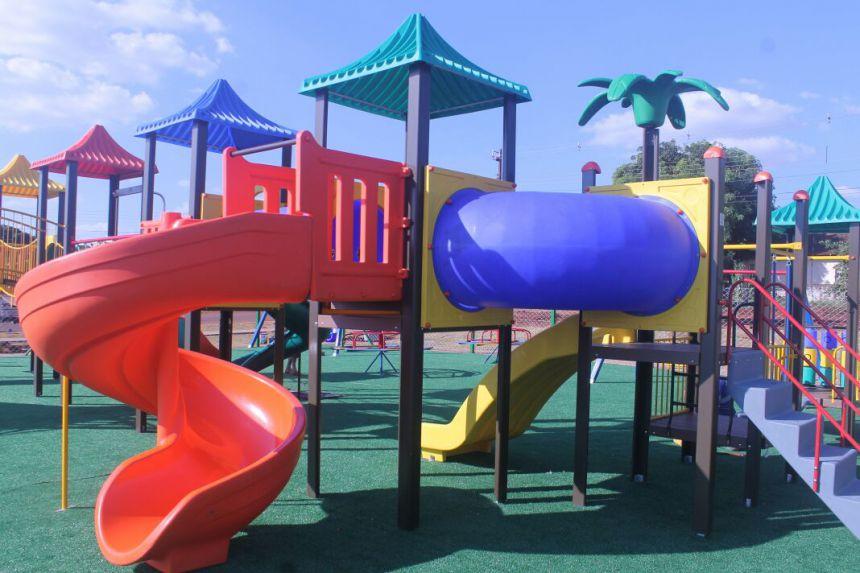 Esclarecimentos sobre o Playground e dicas de como evitar choque nos brinquedos