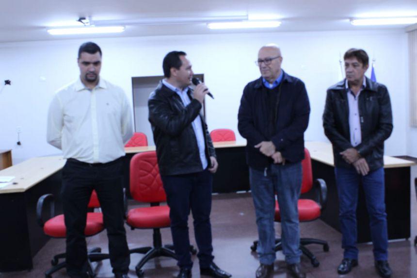 Deputado Romanelli visita Ângulo