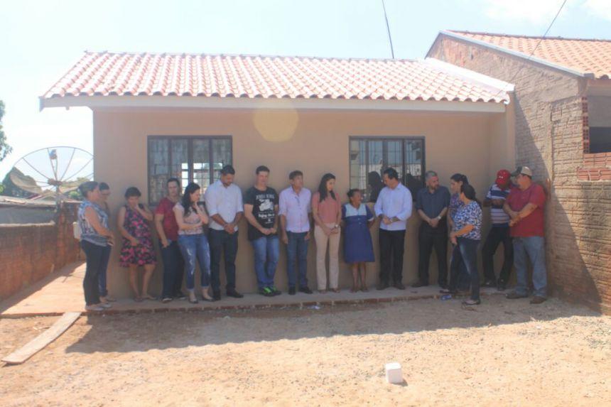 Entrega das Chaves aos proprietários da HABITAÇÃO SOCIAL