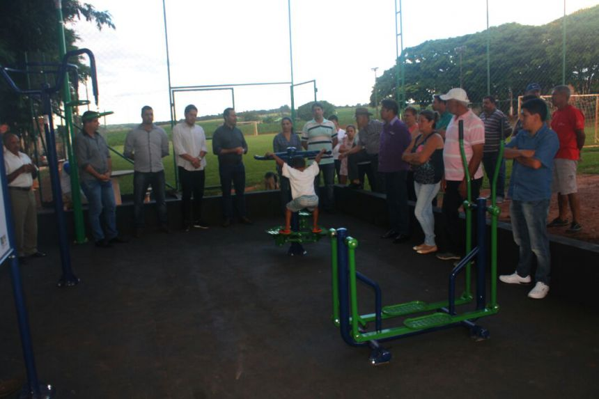 Prefeitura inaugura Academia ao ar Livre no Patrimônio da Valência