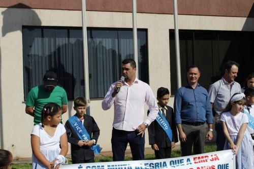 Município realiza a abertura do 29º aniversário em frente ao Paço Municipal