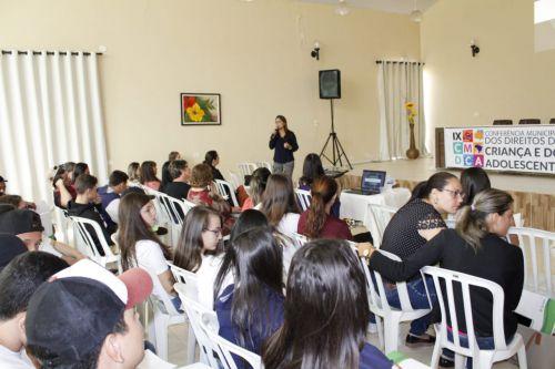 IX Conferência Municipal dos Direitos da Criança e do Adolescente