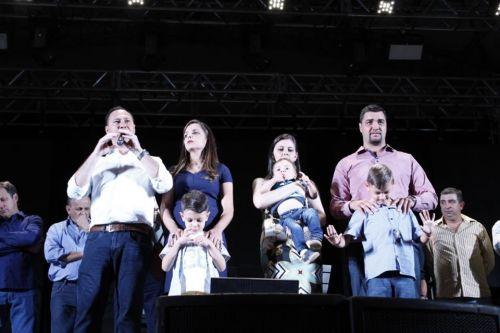 Abertura oficial das festividades em comemoração ao aniversário de Ângulo