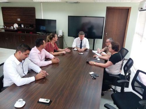 Prefeito Rogério Bernardo e vice-prefeito Alexandre Profeta reivindicam mais segurança para Ângulo e região