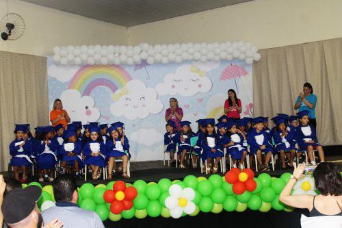 """FORMATURA DOS ALUNOS DO CENTRO MUNICIPAL DE EDUCAÇÃO INFANTIL """"CHAPEUZINHO VERMELHO"""""""