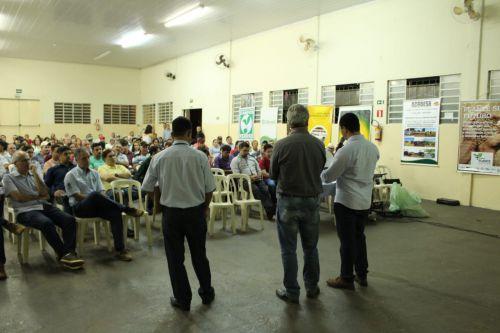 Encontro Municipal de Produtores de Grãos acontece em Ângulo