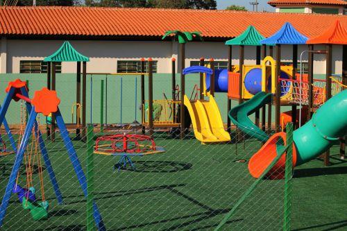 Instalação do Parque Infantil