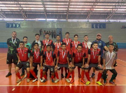 Futsal masculino é vice-campeão na fase final dos Jogos da Juventude em Marialva