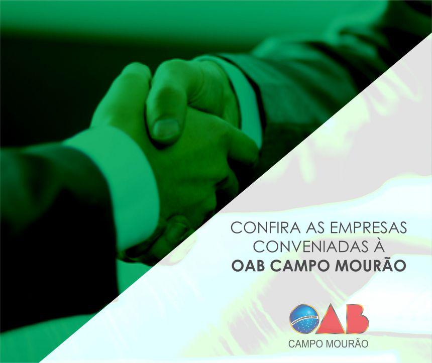 Empresas conveniadas à OAB Campo Mourão