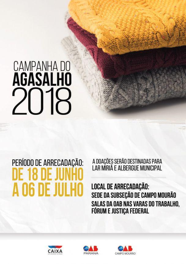Campanha de Agasalho 2018