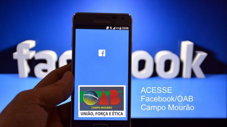 OAB Campo Mourão no Facebook