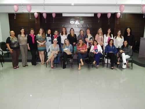 Subseção de Campo Mourão realiza happy hour - Outubro Rosa
