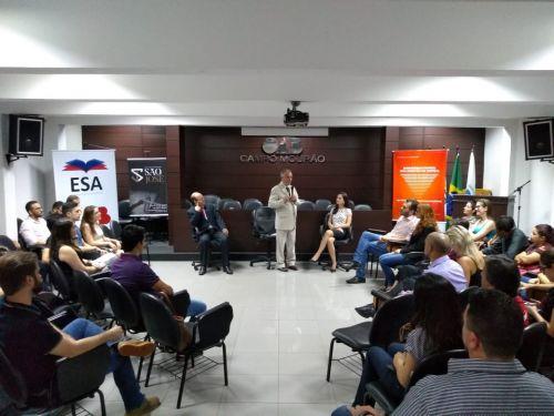 Honorários advocatícios abre programação da Semana do Advogado em Início de Carreira
