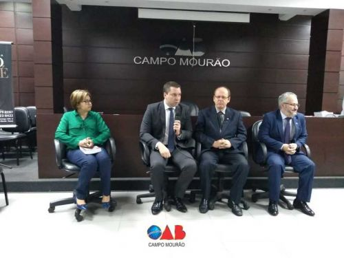 Prerrogativas em discussão na OAB Campo Mourão