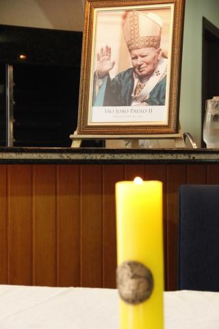 Missa na Comunidade São João Paulo II