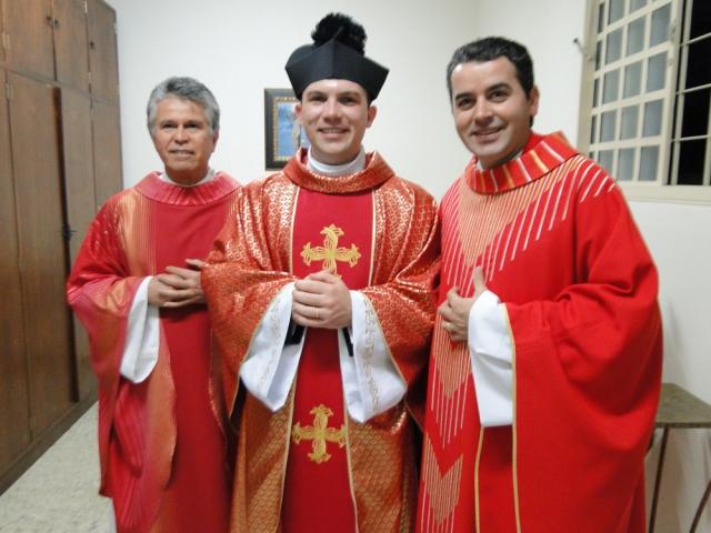 Primeira Missa do Padre Rodrigo Gutierrez Stabel